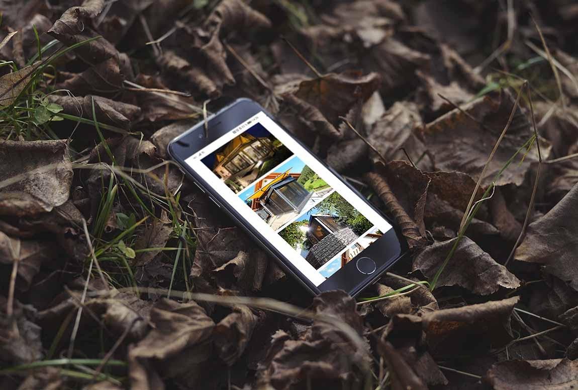 Bildbearbeitung Wohnwintergärten Paquet Handy responsiv